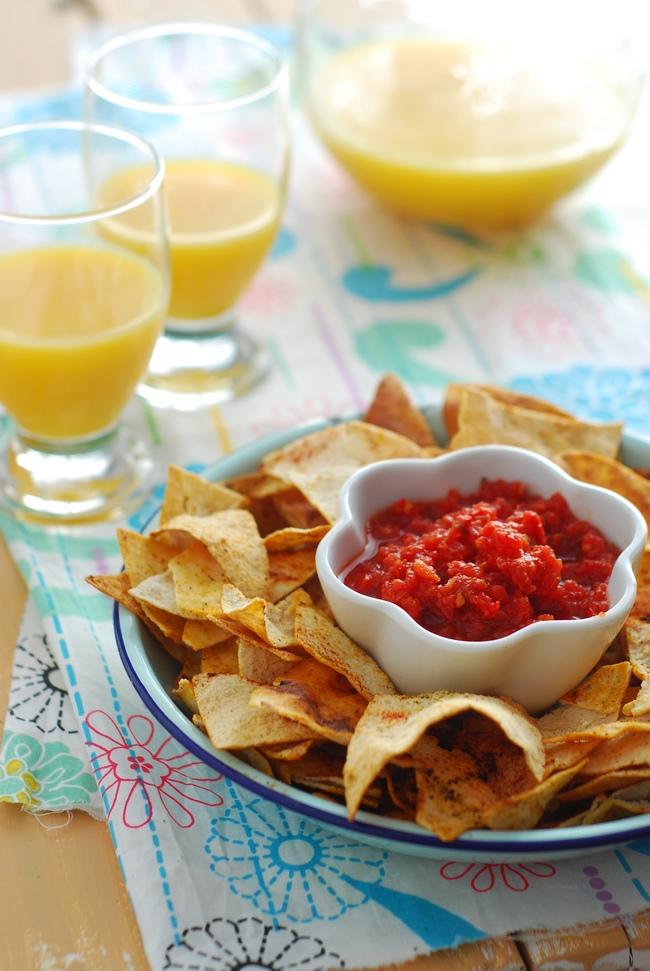 Pita Chips dips